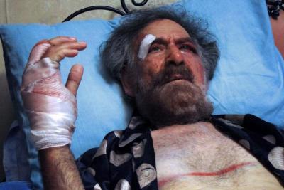 <b>Los esbirros de El Asad le rompen las manos a un caricaturista</b>