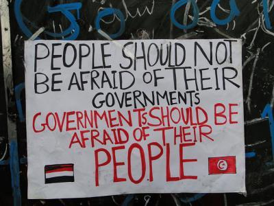 Revolución árabe - egipcia